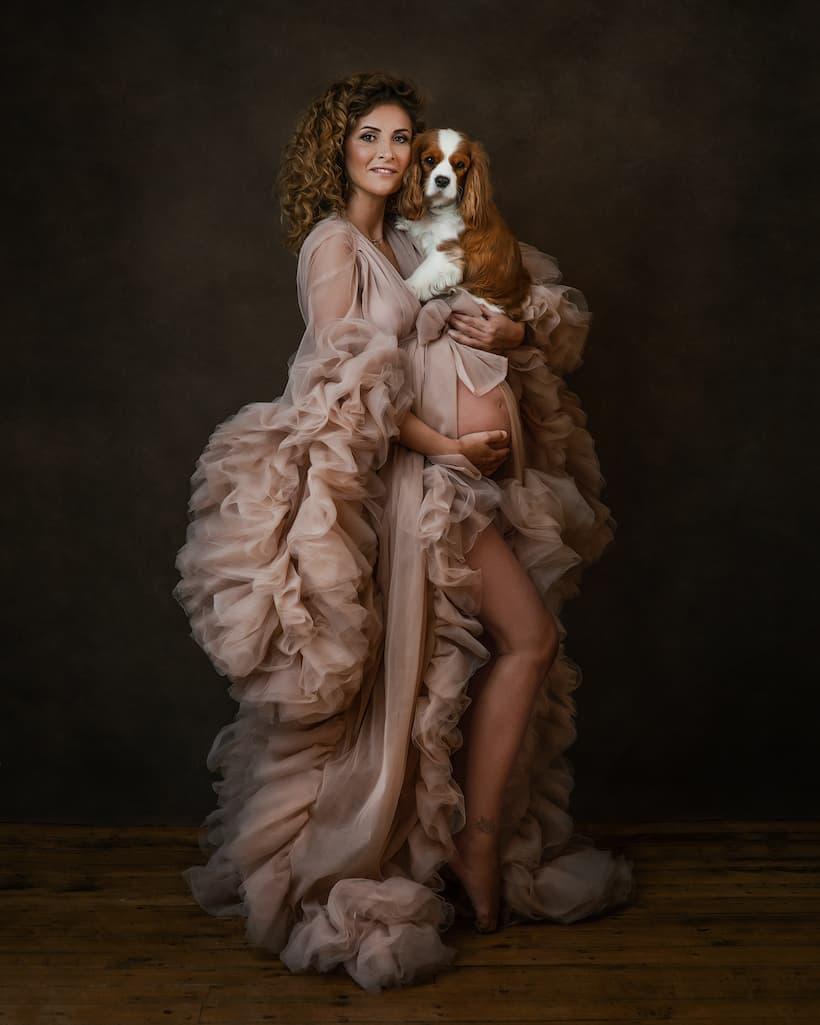 Maternity Photography Portrait - Kettering, Northamptonshire - Paulina Duczman Photography