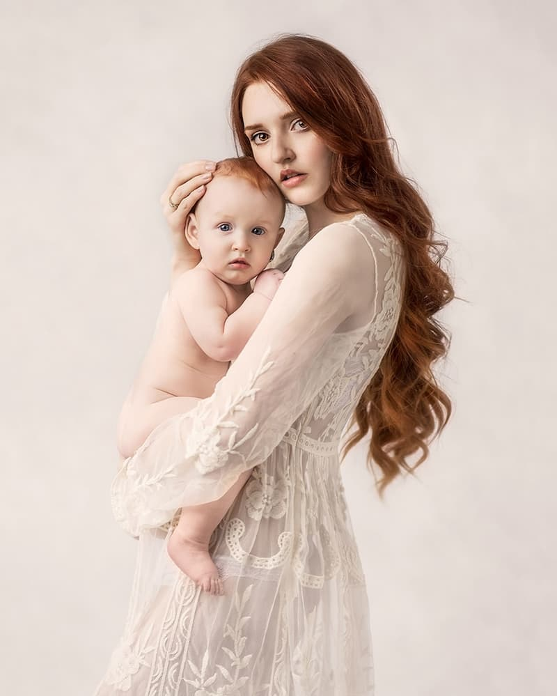 Mommy & Baby Photoshoot - Kettering, Northamptonshire - Paulina Duczman Photography