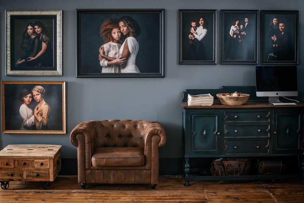 Photography Studio Interior Kettering, Northamptonshire - Paulina Duczman Photography