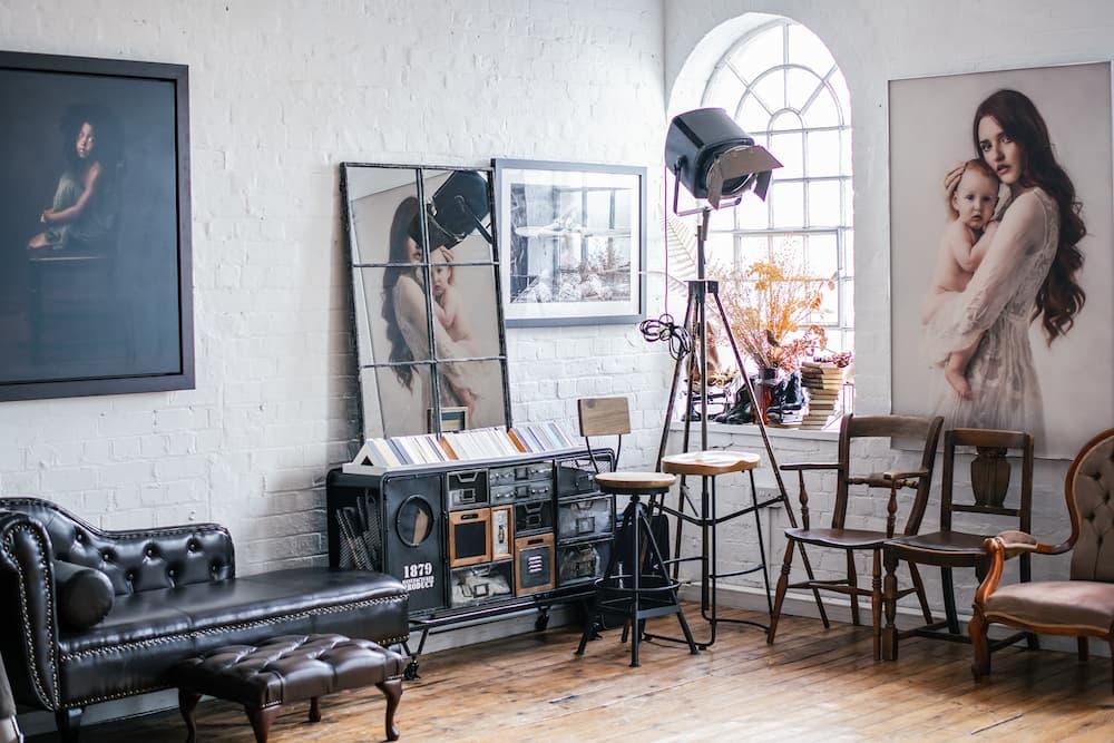 Photography Studio Natural Lighting - Photgraphy Studio in Kettering, Northamptonshire - Paulina Duczman